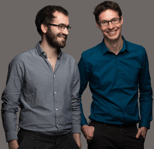Martin Letellier et Luc Boissaye